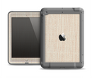The Tan Woven Fabric Pattern Apple iPad Air LifeProof Fre Case Skin Set