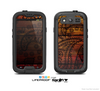 The Tattoed WoodGrain Skin For The Samsung Galaxy S3 LifeProof Case