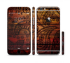 The Tattooed WoodGrain Sectioned Skin Series for the Apple iPhone 6 Plus
