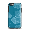 The Teal Abstract Raining Yarn Clouds Apple iPhone 6 Plus Otterbox Symmetry Case Skin Set