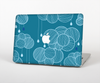The Teal Abstract Raining Yarn Clouds Skin Set for the Apple MacBook Air 13""
