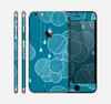 The Teal Abstract Raining Yarn Clouds Skin for the Apple iPhone 6 Plus