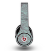 The Teal Aster Flower Lined Skin for the Original Beats by Dre Studio Headphones
