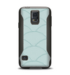 The Teal Circle Polka Pattern Samsung Galaxy S5 Otterbox Commuter Case Skin Set