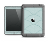 The Teal Circle Polka Pattern Apple iPad Air LifeProof Fre Case Skin Set