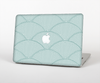 The Teal Circle Polka Pattern Skin Set for the Apple MacBook Air 13""