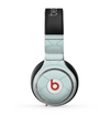 The Teal Circle Polka Pattern Skin for the Beats by Dre Pro Headphones