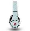 The Teal Circle Polka Pattern Skin for the Original Beats by Dre Studio Headphones