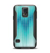 The Teal Disco Ball Samsung Galaxy S5 Otterbox Commuter Case Skin Set
