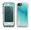 The Teal Disco Ball Skin for the iPhone 5-5s OtterBox Preserver WaterProof Case