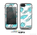 The Teal Fishies Skin for the Apple iPhone 5c LifeProof Case