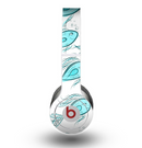 The Teal Fishies Skin for the Beats by Dre Original Solo-Solo HD Headphones
