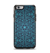 The Teal Floral Mirrored Pattern Apple iPhone 6 Otterbox Symmetry Case Skin Set