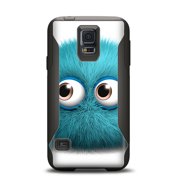 The Teal Fuzzy Wuzzy Samsung Galaxy S5 Otterbox Commuter Case Skin Set