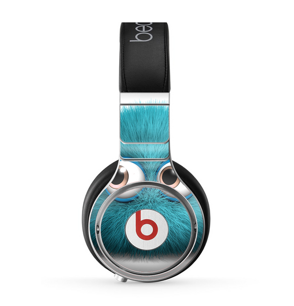 The Teal Fuzzy Wuzzy Skin for the Beats by Dre Pro Headphones