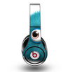 The Teal Fuzzy Wuzzy Skin for the Original Beats by Dre Studio Headphones