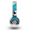 The Teal Fuzzy Wuzzy Skin for the Original Beats by Dre Wireless Headphones
