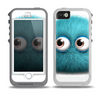 The Teal Fuzzy Wuzzy Skin for the iPhone 5-5s OtterBox Preserver WaterProof Case