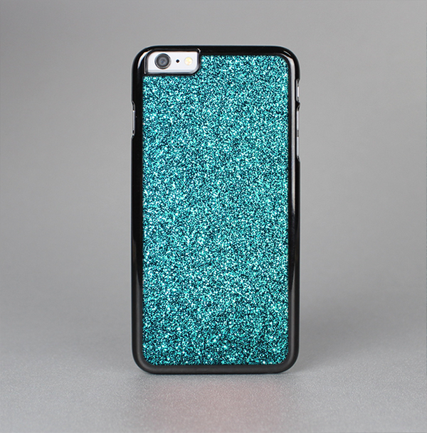 The Teal Glitter Ultra Metallic Skin-Sert Case for the Apple iPhone 6 Plus