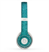 The Teal Glitter Ultra Metallic Skin for the Beats by Dre Solo 2 Headphones