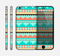 The Teal & Gold Tribal Ethic Geometric Pattern Skin for the Apple iPhone 6