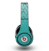 The Teal Hexagon Pattern Skin for the Original Beats by Dre Studio Headphones