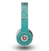 The Teal Hexagon Pattern Skin for the Original Beats by Dre Wireless Headphones