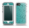 The Teal Hexagon Pattern Skin for the iPhone 5-5s OtterBox Preserver WaterProof Case.png