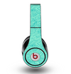 The Teal Leaf Laced Pattern Skin for the Original Beats by Dre Studio Headphones