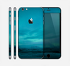 The Teal Northern Lights Skin for the Apple iPhone 6 Plus