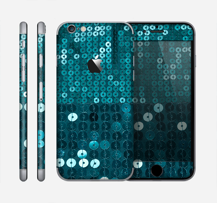 The Teal Sequences Skin for the Apple iPhone 6