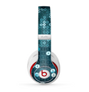 The Teal Sequences Skin for the Beats by Dre Studio (2013+ Version) Headphones