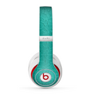 The Teal Stamped Texture Skin for the Beats by Dre Studio (2013+ Version) Headphones
