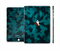 The Teal Vector Camo Full Body Skin Set for the Apple iPad Mini 3