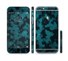 The Teal Vector Camo Sectioned Skin Series for the Apple iPhone 6
