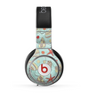 The Teal Vintage Seashell Pattern Skin for the Beats by Dre Pro Headphones