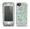 The Layered Tan Circle Pattern Skin for the iPhone 5-5s OtterBox Preserver WaterProof Case