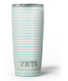 The_Teal_and_Coral_Striped_Patttern_-_Yeti_Rambler_Skin_Kit_-_20oz_-_V3.jpg
