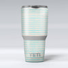 The_Teal_and_Coral_Striped_Patttern_-_Yeti_Rambler_Skin_Kit_-_30oz_-_V1.jpg