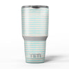 The_Teal_and_Coral_Striped_Patttern_-_Yeti_Rambler_Skin_Kit_-_30oz_-_V5.jpg