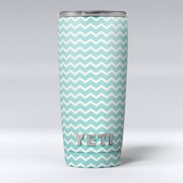 The_Teal_and_White_Chevron_Pattern_-_Yeti_Rambler_Skin_Kit_-_20oz_-_V1.jpg