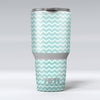 The_Teal_and_White_Chevron_Pattern_-_Yeti_Rambler_Skin_Kit_-_30oz_-_V1.jpg