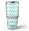 The_Teal_and_White_Chevron_Pattern_-_Yeti_Rambler_Skin_Kit_-_30oz_-_V3.jpg