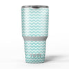 The_Teal_and_White_Chevron_Pattern_-_Yeti_Rambler_Skin_Kit_-_30oz_-_V5.jpg