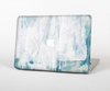 The Teal and White WaterColor Panel Skin Set for the Apple MacBook Air 13""