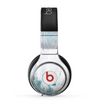 The Teal and White WaterColor Panel Skin for the Beats by Dre Pro Headphones