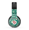 The Teal and Yellow Beauty Product Icons Skin for the Beats by Dre Pro Headphones