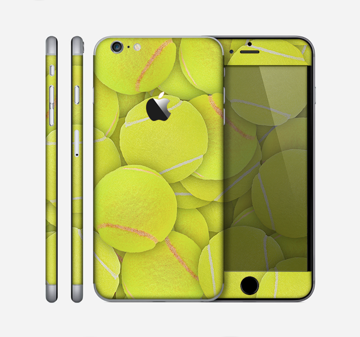 The Tennis Ball Overlay Skin for the Apple iPhone 6 Plus
