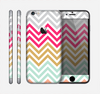 The Three-Bar Color Chevron Pattern Skin for the Apple iPhone 6