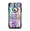The Tie-Dyed Aztec Elephant Pattern Apple iPhone 6 Otterbox Commuter Case Skin Set